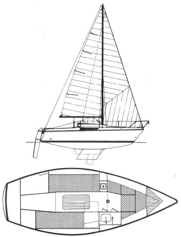 BRIO (JEANNEAU) drawing