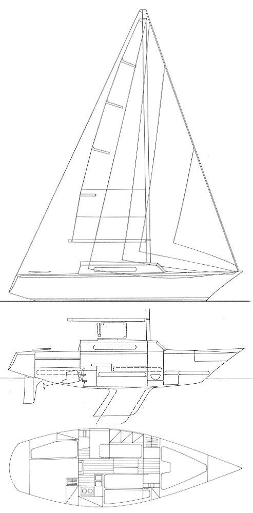 BRISE DE MER 31 (LC) drawing