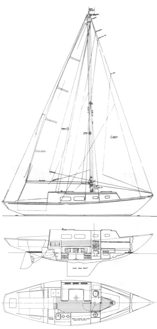 BRISTOL 31 XL drawing