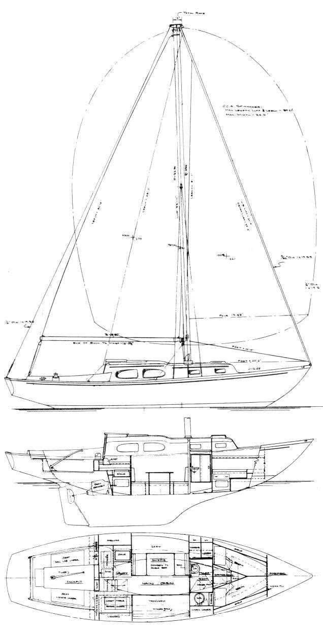 BRISTOL 35 drawing
