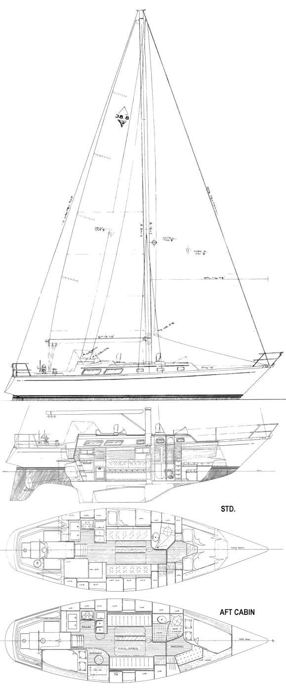 BRISTOL 38.8 drawing