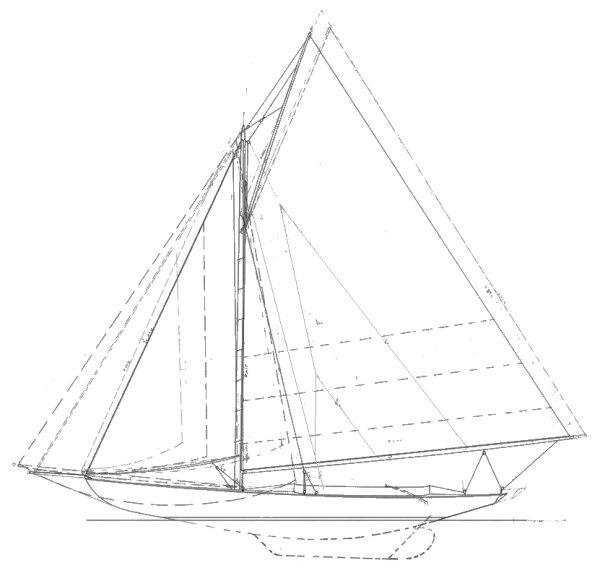 BUZZARDS BAY 15 drawing