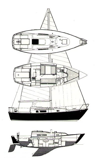 C&C 30-1 (1-506) drawing