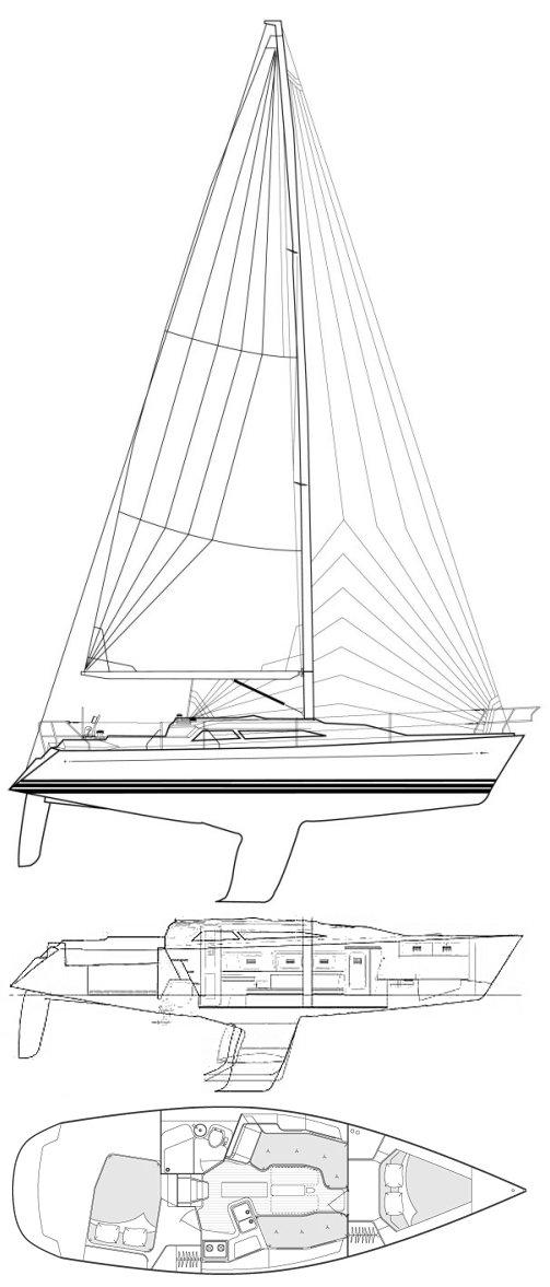 C&C 110 drawing