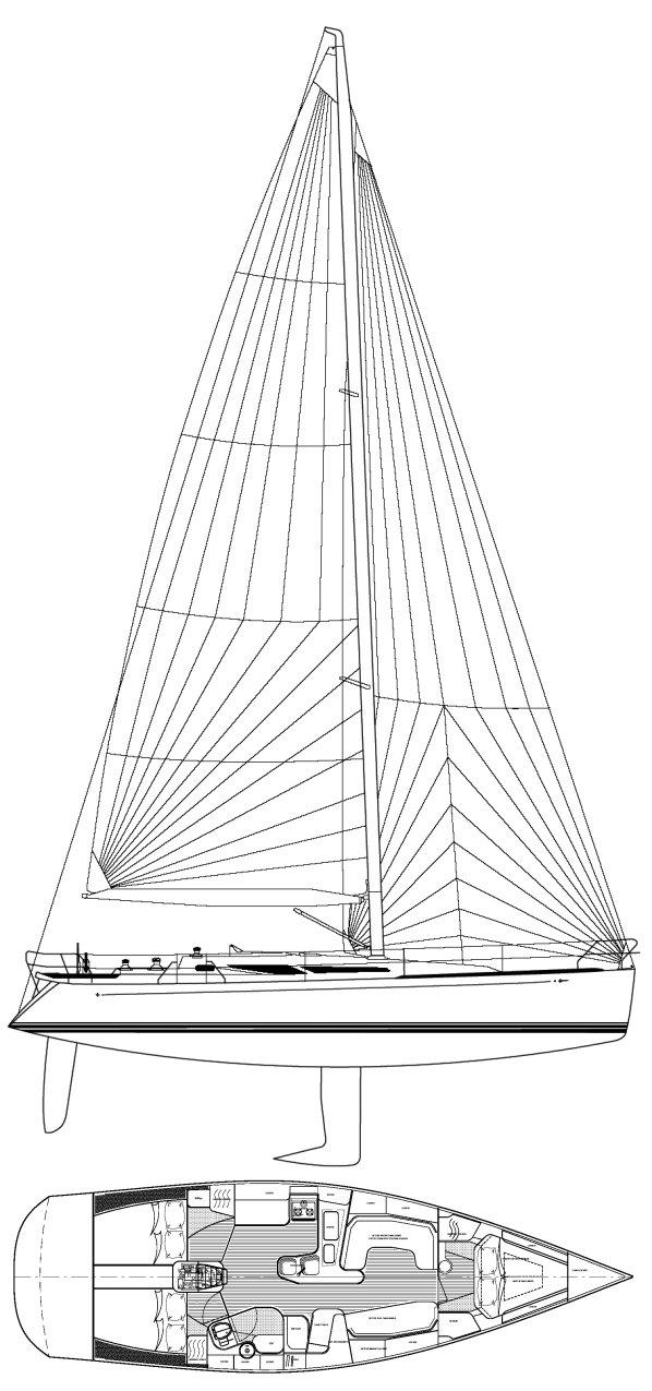 C&C 131 drawing