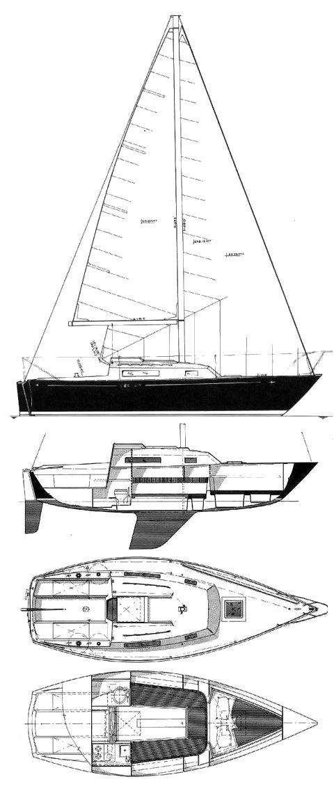 C&C 24 drawing