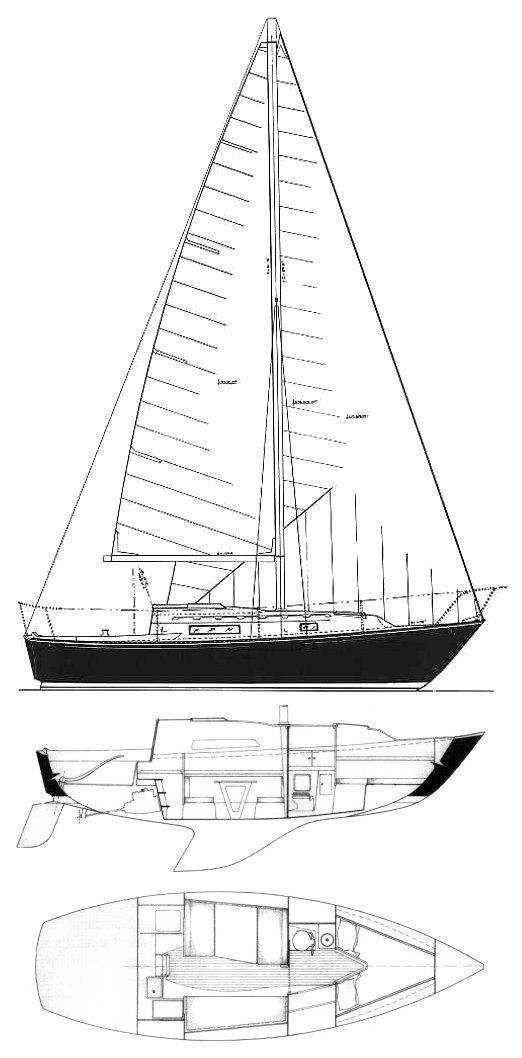 C&C 27 MK I sailboat specifications and details on