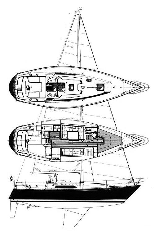 C&C 35-3 drawing