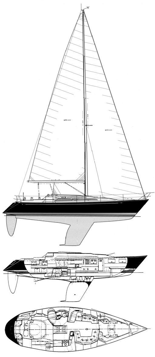 C&C 37/40+ drawing
