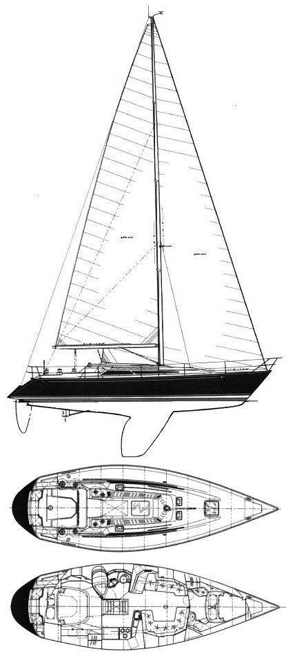 C&C 37/40 XL drawing