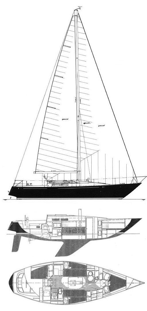 C&C 38-2 drawing