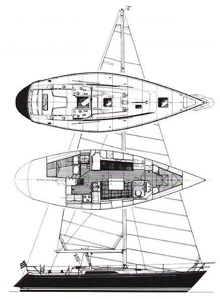 C&C 41 drawing