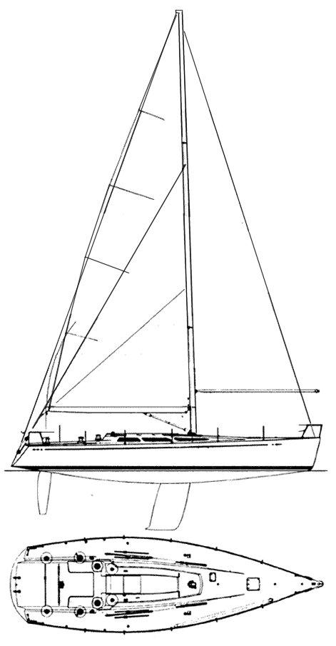 C&C 45 drawing