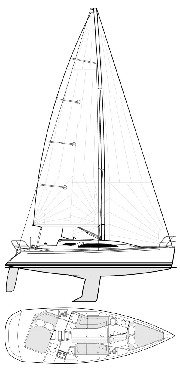 C&C 99 drawing