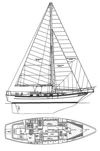 CABO RICO 38 drawing