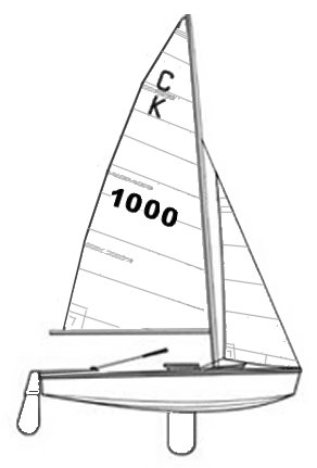 Cadet drawing on sailboatdata.com