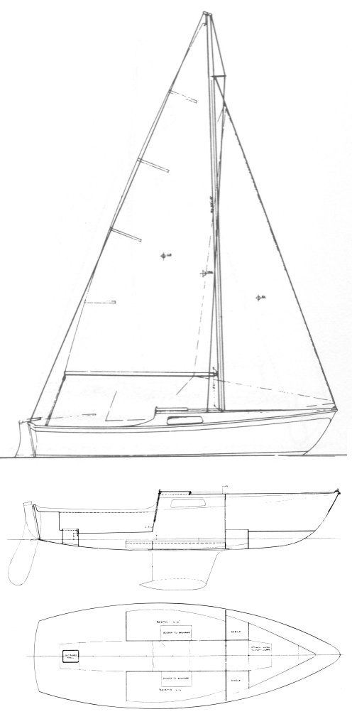 CAL 20 drawing