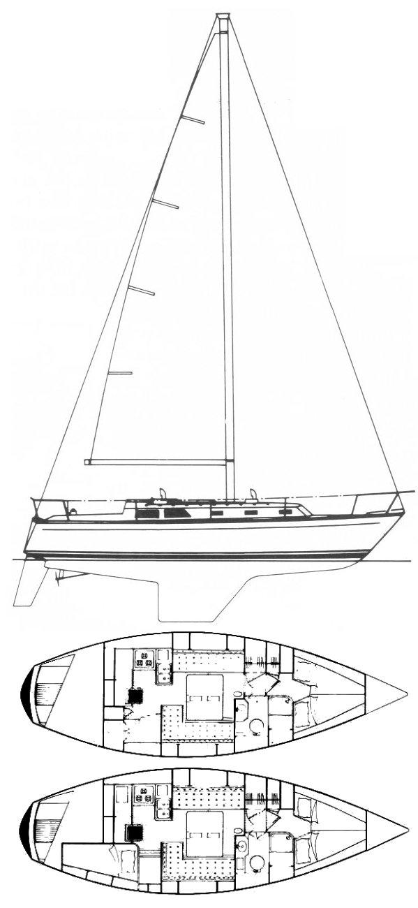 CAL 35 (1979) drawing