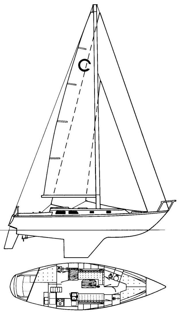 CAL 39 MK II (1-147) drawing
