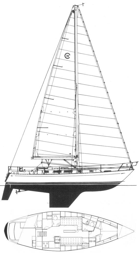 CAL 39 MK III drawing