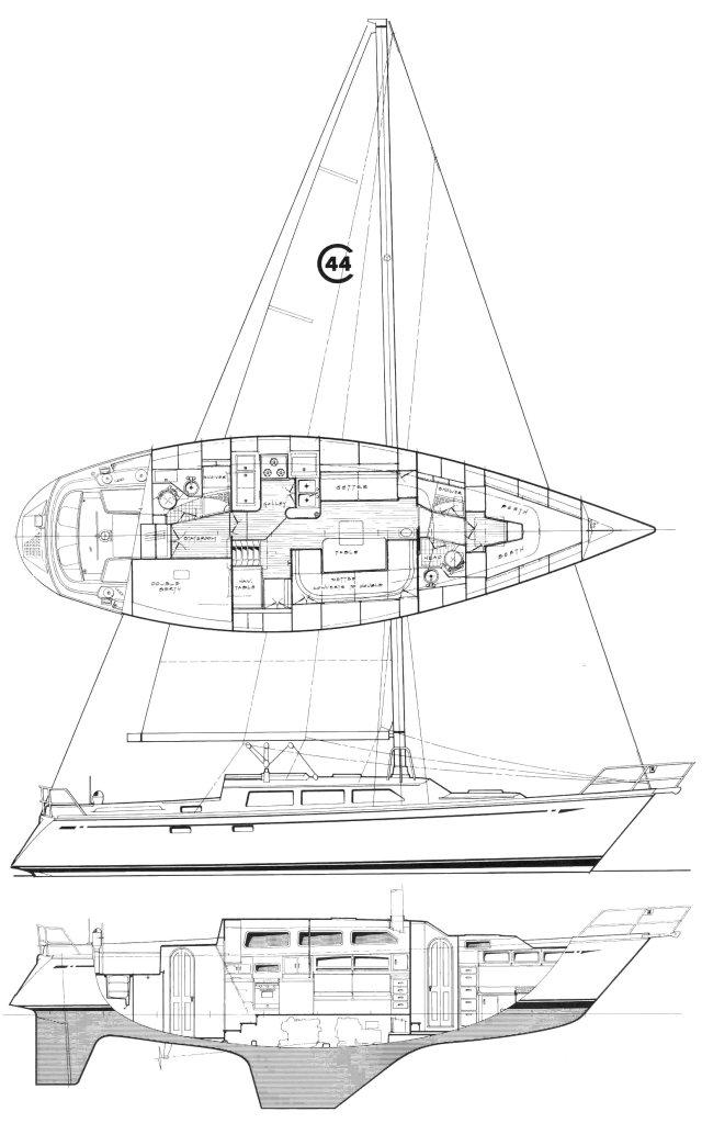 CAL 44 drawing