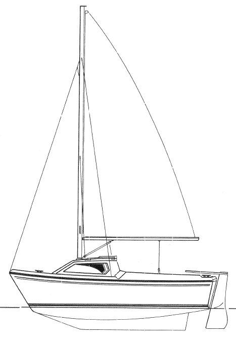 CAP 450 (JEANNEAU) drawing