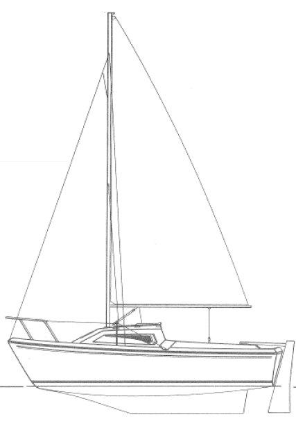 CAP 540 (JEANNEAU) drawing