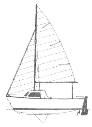 Cape Breton (Jeanneau) drawing on sailboatdata.com