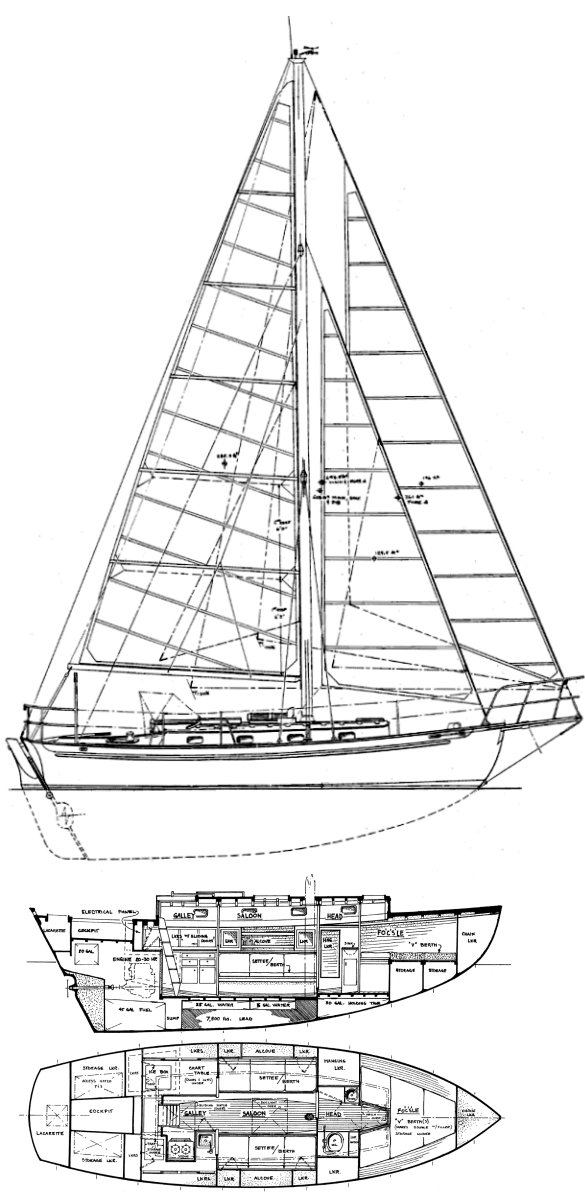 CAPE GEORGE 31 drawing