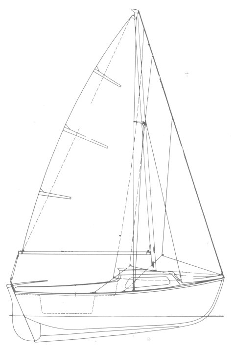 CAPELAN (BENETEAU) drawing