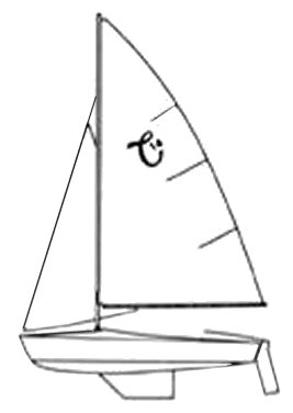 Capri 14 (Schock) drawing on sailboatdata.com
