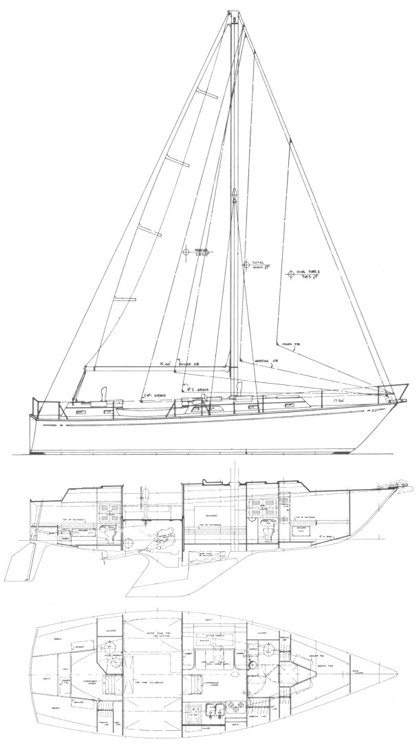 CARIB 41 drawing