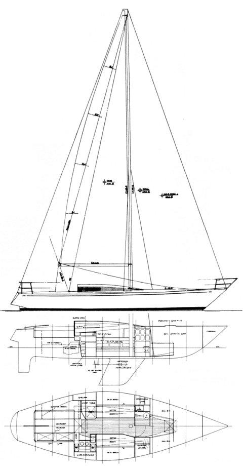 CARTER 37 (1 TON) drawing