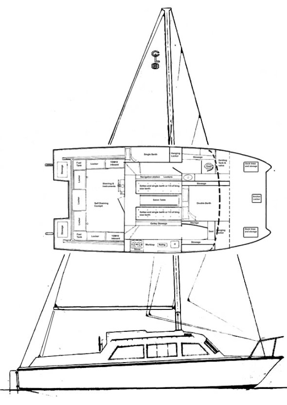 CATALAC 8M drawing