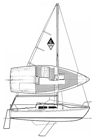 CATALINA 22 drawing