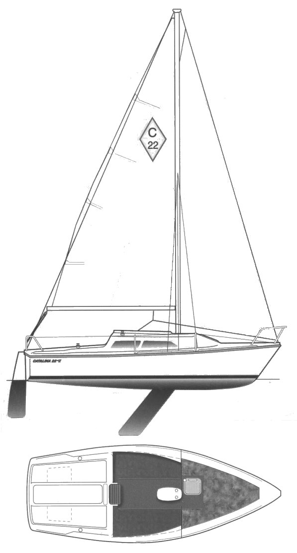 CATALINA 22 MKII drawing
