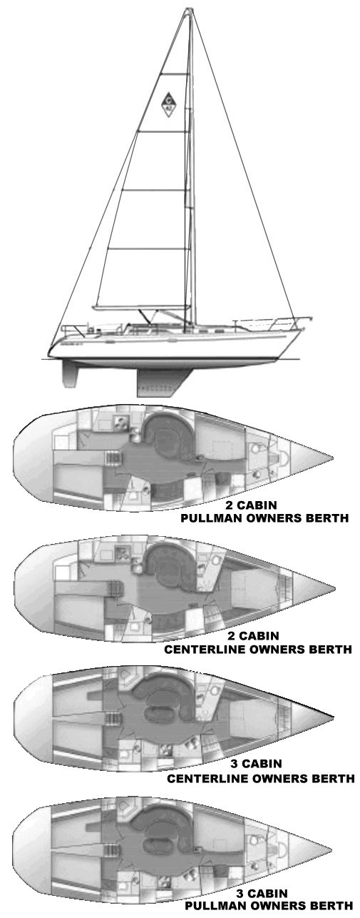 CATALINA 42 MK II drawing