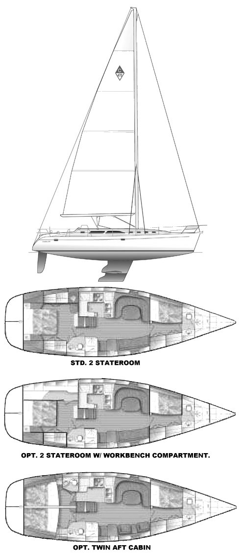 CATALINA 470 drawing