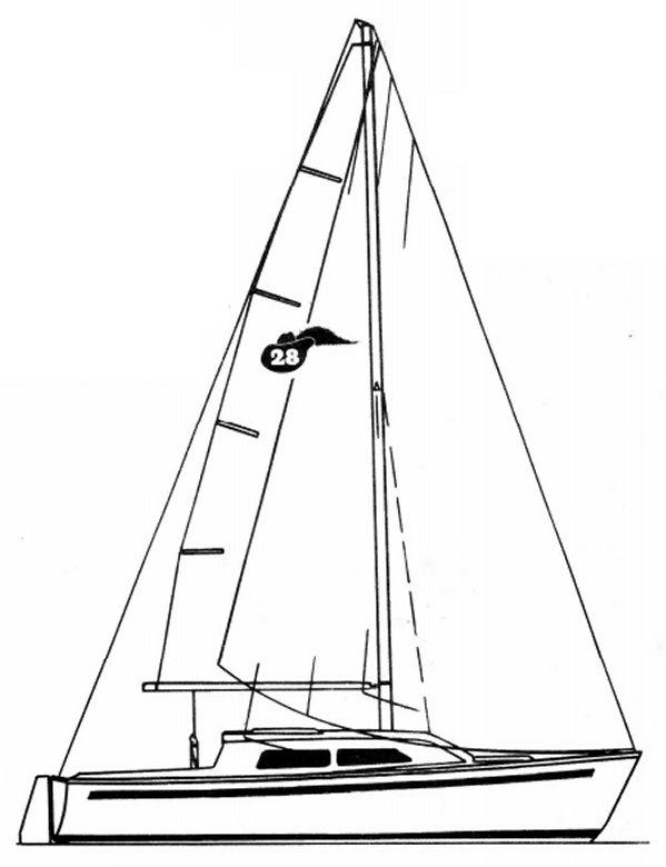 CAVALIER 28 drawing