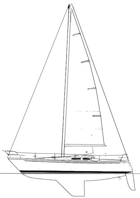 CAVALIER 36 drawing