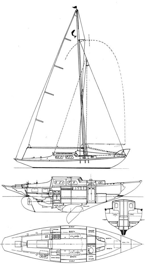 CHINOOK 34 drawing