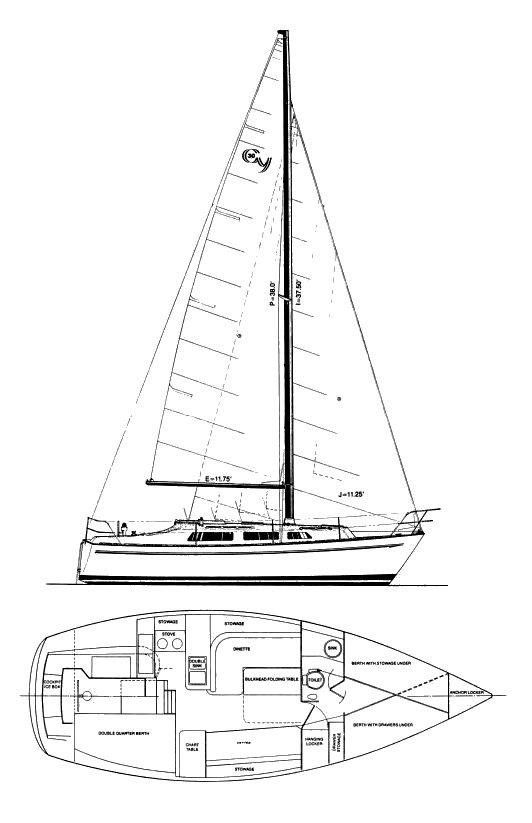 CHRYSLER 30 (CY 30) drawing
