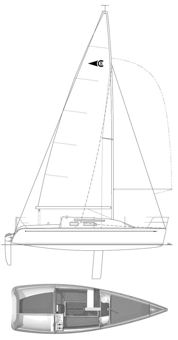 CLUBMAN 8 drawing