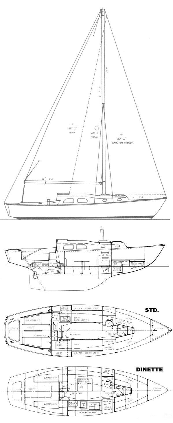 COASTER 30 (PEARSON) drawing