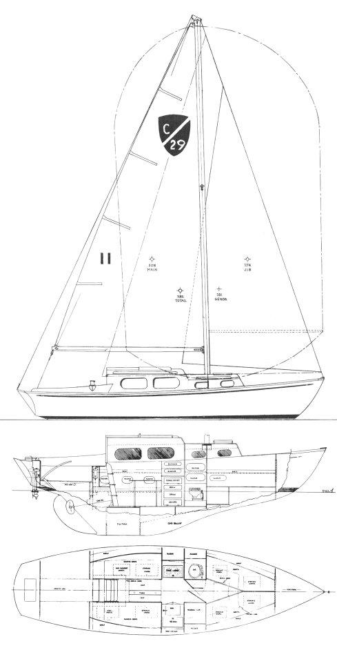 COLUMBIA 29 drawing
