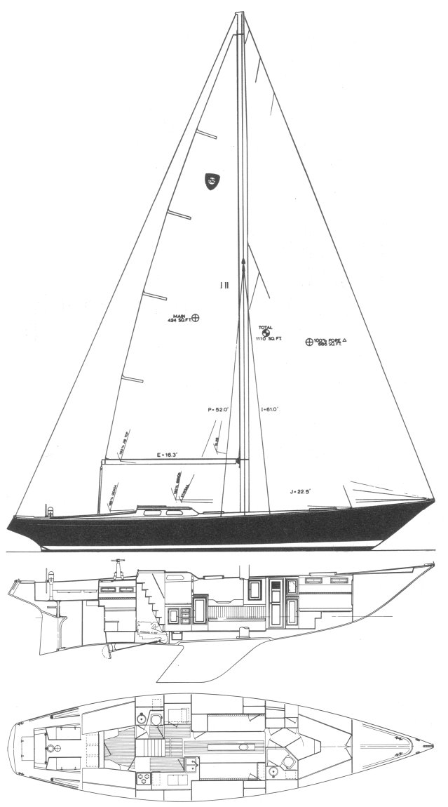 COLUMBIA 52 drawing