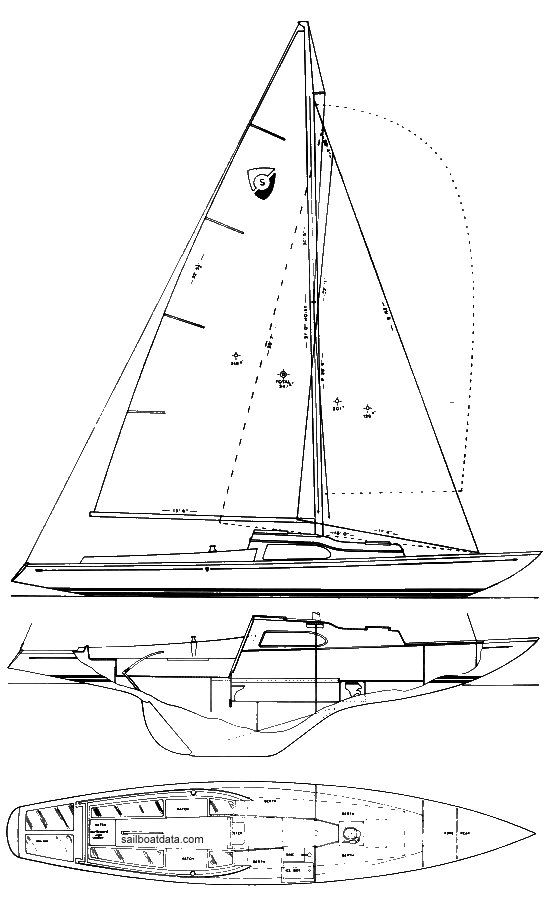 COLUMBIA SABRE drawing