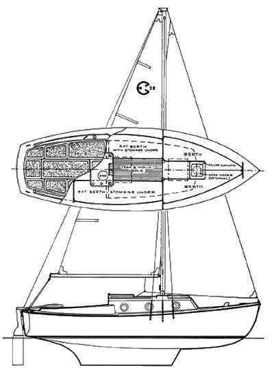 COM-PAC 23 MK 2 drawing