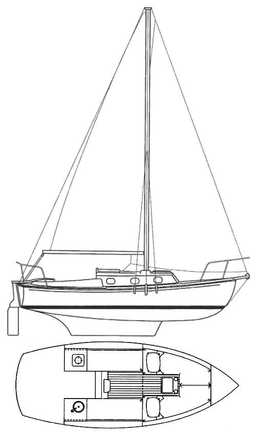 COM-PAC 23 MK 3  drawing