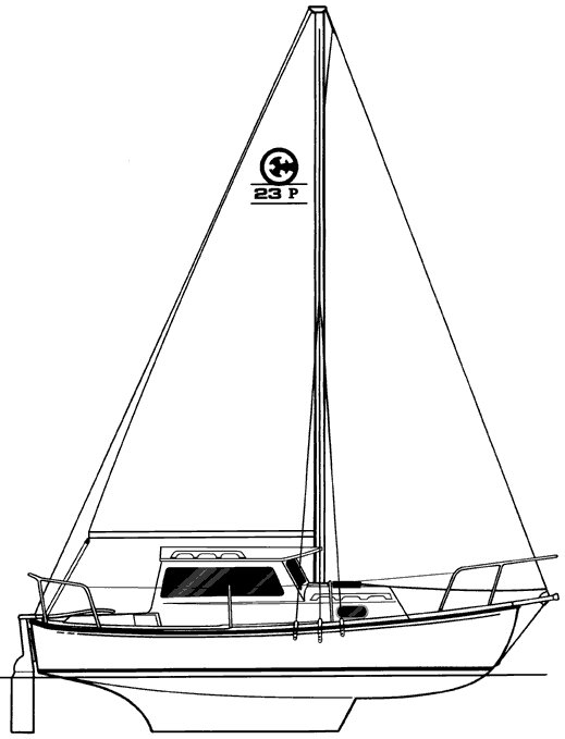 COM-PAC 23 PILOTHOUSE drawing